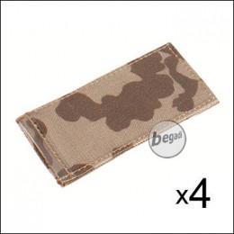 BE-X Modular ID Tags - 4er Pack - BW tropentarn
