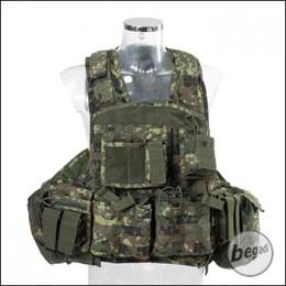 """Invader Gear Plate Carrier / Plattenträger """"COMBO"""" - flecktarn"""