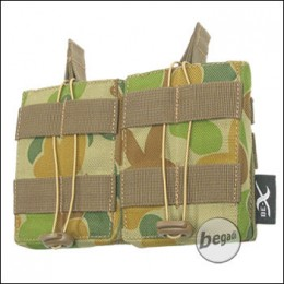BE-X Open Mag Pouch, double, für G3 / M14 - auscam