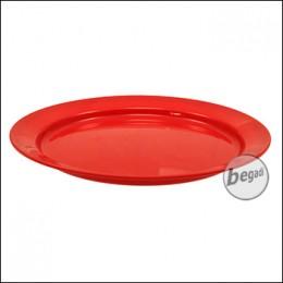 Highlander Teller aus Kunststoff, 23.5cm - rot