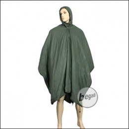 BE-X FronTier One Poncho Liner mit Schlafsack Funktion (komplett olive)
