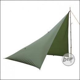 "FIBEGA Tarpzelt ""Pentagon Shelter"", aus Silnylon - olive"