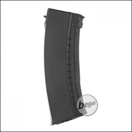 Battleaxe AK74 Flash Highcap Magazin (500 BBs) -schwarz-