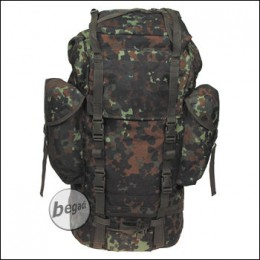 BW Kampfrucksack, flecktarn, groß, Mod., Nylon