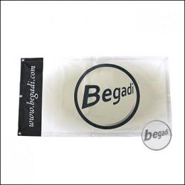 """Begadi Fahne """"BEGADI LOGO"""", Fotodruck, 60x120cm, mit Ösen"""