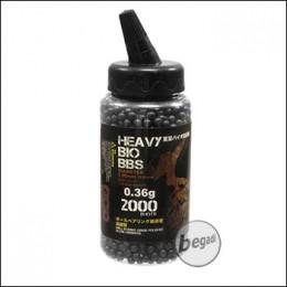 2.000 S&T BIO BBs 6mm 0,36g schwarz - im Feeder