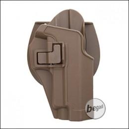 KYOU Hartschalenholster mit Paddle & Clip, für P226 / P229 - TAN