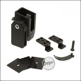 Begadi AIPSC Universal Magazinhalter aus Kunststoff -schwarz-