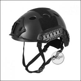 Begadi FAST Helm - schwarz