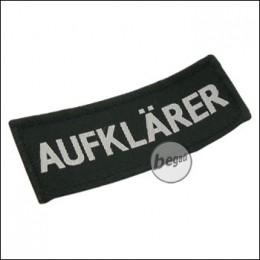 """Aufnäher """"Aufklärer"""", neue Version - schwarz"""