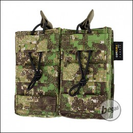 BE-X Open Mag Pouch, double, für G36 - PenCott Greenzone