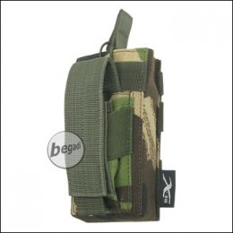 "BE-X Open Type  + Pistol Pouch ""M4 / M16"" - woodland DPM"