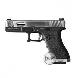 WE G-Force 17 GBB -schwarz / silber- (frei ab 18 J.)