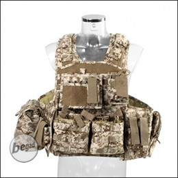 "Invader Gear Plate Carrier / Plattenträger ""COMBO"" - digital desert"