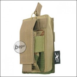 """BE-X Open Type  + Pistol Pouch """"M4 / M16"""" -V2, Rip St.- rooivalk"""