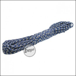 "BE-X Paracord ""Blue camo"", 550lbs, 30m"