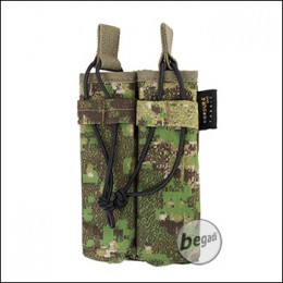 BE-X Open Mag Pouch, double, für MP5 - PenCott Greenzone