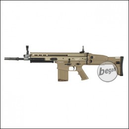 WE MK17 Open Bolt GBB, TAN (frei ab 18 J.)