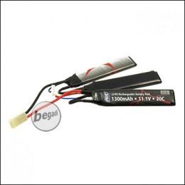ASG LiPo Akku 11,1V 1300mAh - Triple Stick