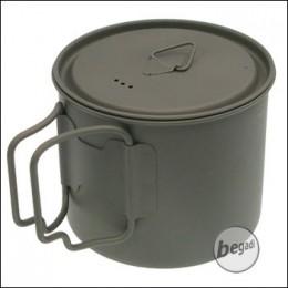 BE-X Titanium Topf mit Deckel, 500ml