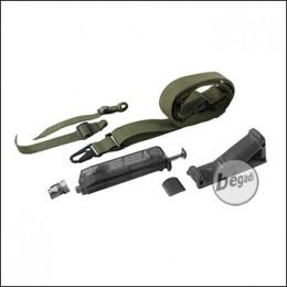 SET: Begadi 3 Punkt Sling + Angled Grip + Loading Tool - olive