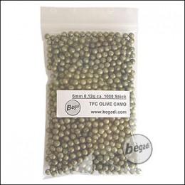 1.000 TFC Olive Camo BBs 6mm 0,12g