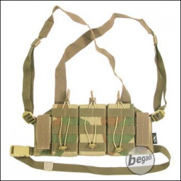 "BE-X Mikro Chest Rig ""M4 Edition"" -V2, Rip Stop- rooivalk"