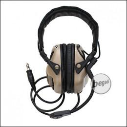 EARMOR -Universal- Headset M32 mit Schallschutz - TAN [M32-TN]
