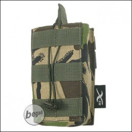 BE-X Open Mag Pouch, single, für G36 - woodland DPM