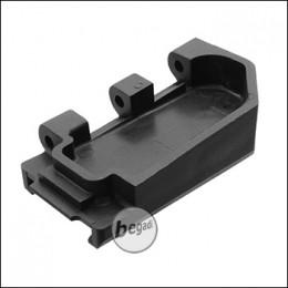 WE MK16 / MK17 GBB Part No. 66 - Stock Adapter, schwarz