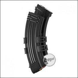Battleaxe AK47 Elektro Dual Highcap Magazin (1200 BBs) – schwarz