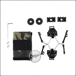 Z-Tactical Helm Rail Adapter Set für COMTAC I & II -schwarz- [Z046]
