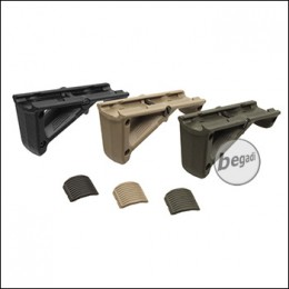"""CYMA Angled Fore Grip / Frontgriff """"TRIO"""" - schwarz / olive / TAN"""