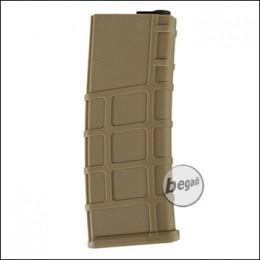 Lonex M4 / M16 MidCap Magazin (200 BBs) - TAN