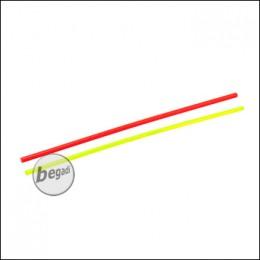 PPS Lichtsammelstäbe / Fiberoptik Set - rot/grün