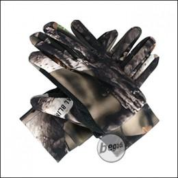 """BE-X Scharfschützen Handschuhe """"Natural Blind© 3D"""", braun - unisize"""