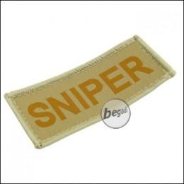 """Aufnäher """"Sniper"""", neue Version - TAN"""