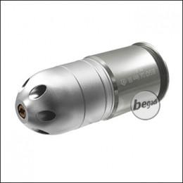 Dboys M-56 40mm Granate, 24 BBs, silber (frei ab 18 J.)