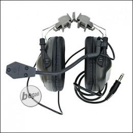 EARMOR -Helm- Headset M32 mit Schallschutz - olive [M32H-FG]