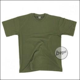 US T-Shirt, halbarm, oliv, 160g/m² - Größe XL