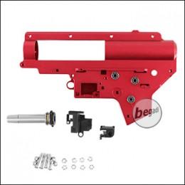 Begadi CNC Aluminium V2 QD Gearbox Shell 8mm -rot-