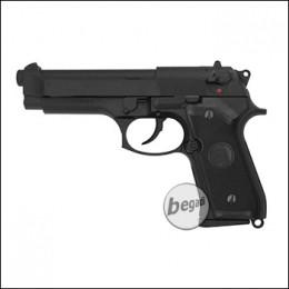 "KJW M9 ""PRO"" GBB, schwarz, Gas Version (frei ab 18 J.)"