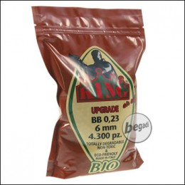4.300 SUPER KING AIRSOFT BIO BBs 6mm 0,23g hell