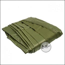 BE-X Tarp, Basecamp, SilNylon, 420x500cm - olive