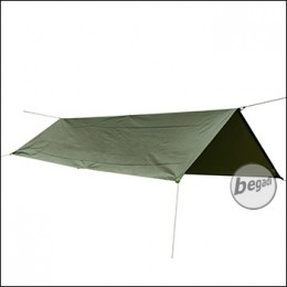 BE-X Rescue Tarp, Reflective Edition, 145x250cm - olive