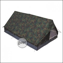 "Zelt ""Minipack"" Gr. 213x137x97cm, m. Moskitonetz, woodland"