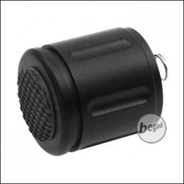 Begadi Universal Endkappe mit Drehsystem für Taschenlampen
