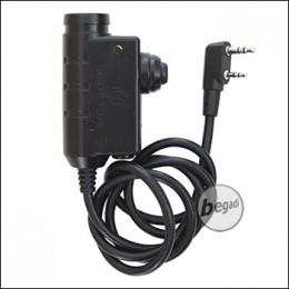 EARMOR PTT Einheit / Sprechtaste für Headsets - für Kenwood [M51-KEN]