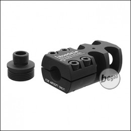 "Roedale Flashhider ""SNIPER"" mit 14mm Linksgewinde & 21mm Adapter"