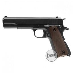 "KJW M1911 ""PRO"" GBB, schwarz, Gas Version (frei ab 18 J.)"